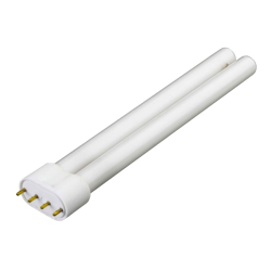 BLAU Tube Fluo Compact 55 Watts Blanc/Rose - Culot 2G11