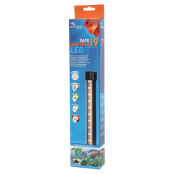 AQUATLANTIS Safe Lightning 19 LED Rampe LED pour aquarium d'eau douce - 1,6 Watts