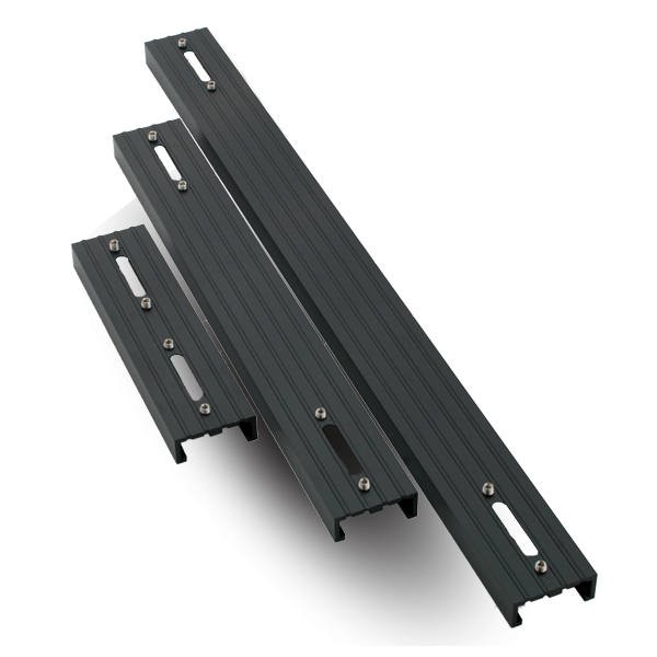 AQUA ILLUMINATION EXT Rail simple pour rampe LED Hydra 26 et 52 Noir - 15,2 cm