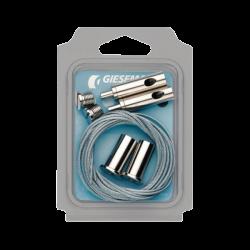 GIESEMANN Kit de suspension Rampe T5 MATRIX II - 6 à 8 tubes