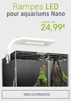 Rampes LED pour aquariums Nano - eau douce